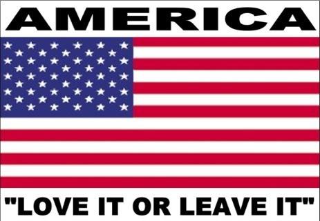 america love it or leave it